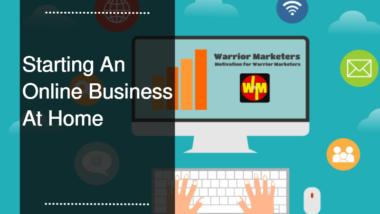 Starting An Online Business Blog