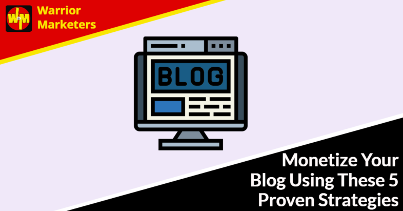 how to monetize blogging
